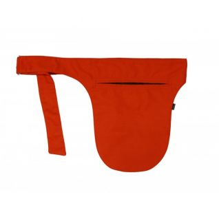Riñonera de camarero playa naranja | Vittorio Uniformes