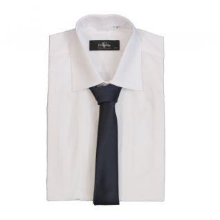 Camisa blanca trabajo oficina hombre manga larga| Vittorio Uniformes