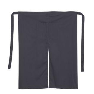 Delantal de camarero estilo francés gris | Vittorio Uniformes