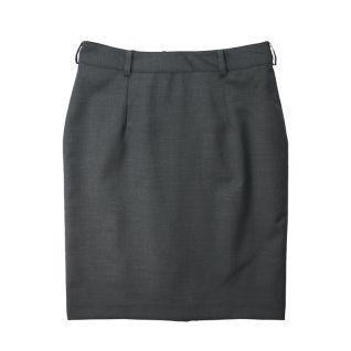 Falda gris de trabajo oficina| Vittorio Uniformes