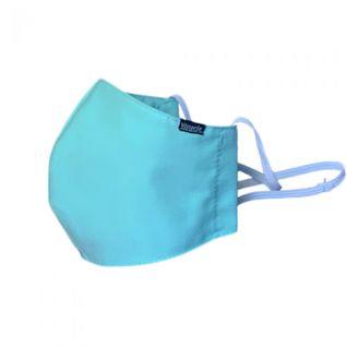 Mascarilla de tela verde sanitario | reutilizable, lavable y homologada UNE 0065