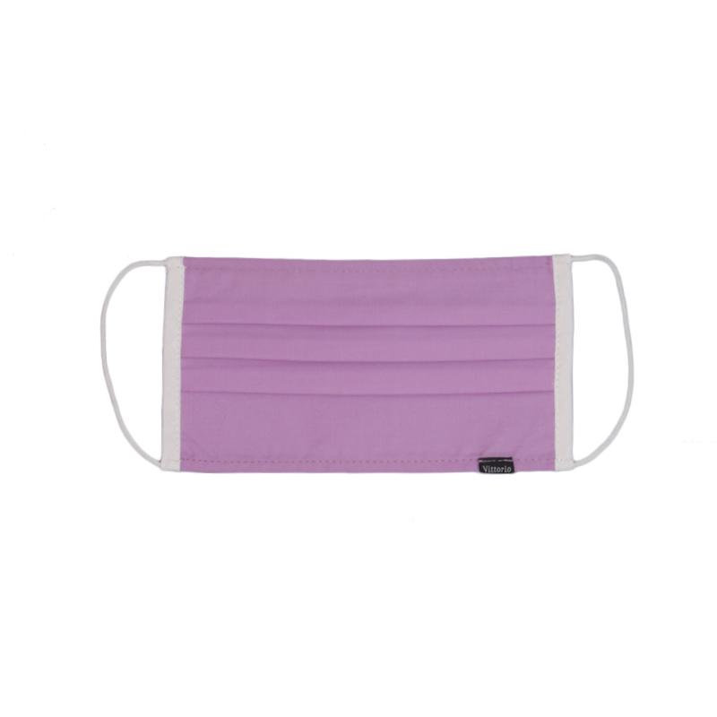 Mascarilla de tela lila   Higiénica UNE 0065